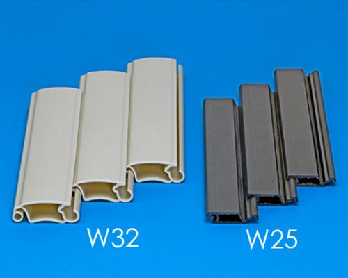 捲門押條,塑膠捲門押條, 材質:PVC,ABS,HIPS,PC,PP,PE,壓克力